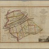 Map of Dauphin & Lebanon counties: constructed by virtue of an act of the Legislature of Pennsylvania passed 19th March 1816