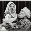 Charlotte Rae and Stacey Keach in the stage production Henry IV