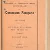Compte-rendu de gestion pour l'exercice 1905, Budget 1906