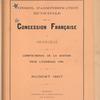 Compte-rendu de gestion pour l'exercice 1906, Budget 1907