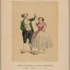 Amalie Wollrabe und Carl Helmerding als Ninette und Girard in Ein alter Tänzer