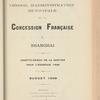 Compte-rendu de gestion pour l'exercice 1908, Budget 1909
