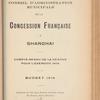 Compte-rendu de gestion pour l'exercice 1909, Budget 1910