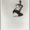 "Merce Cunningham in ""Untitled Solo"""