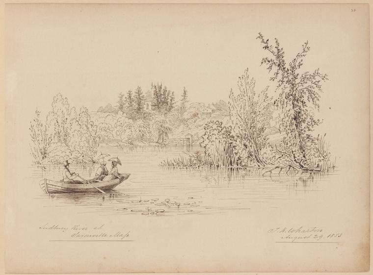 Fascinating Historical Picture of Thomas Kelah Wharton on 8/29/1853