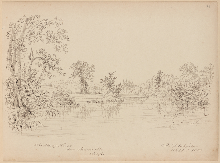 Fascinating Historical Picture of Thomas Kelah Wharton on 9/3/1853