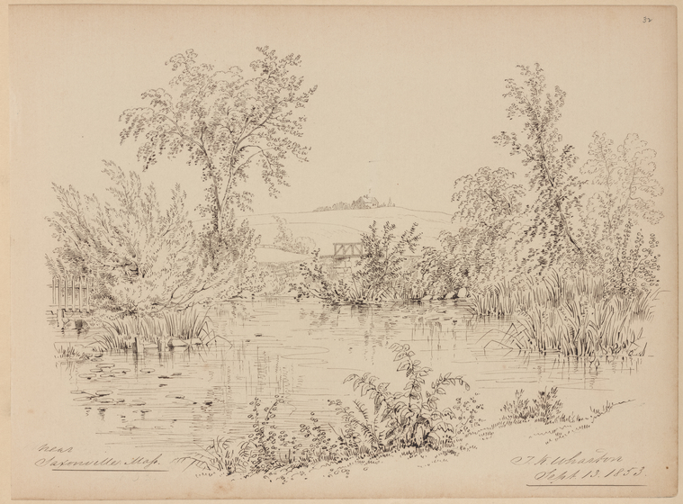 Fascinating Historical Picture of Thomas Kelah Wharton on 9/13/1853