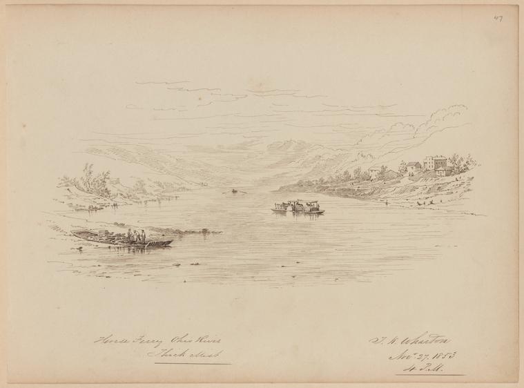 Fascinating Historical Picture of Thomas Kelah Wharton on 11/27/1853