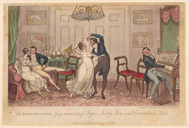 Fascinating Historical Picture of Robert Cruikshank on 11/1/1820