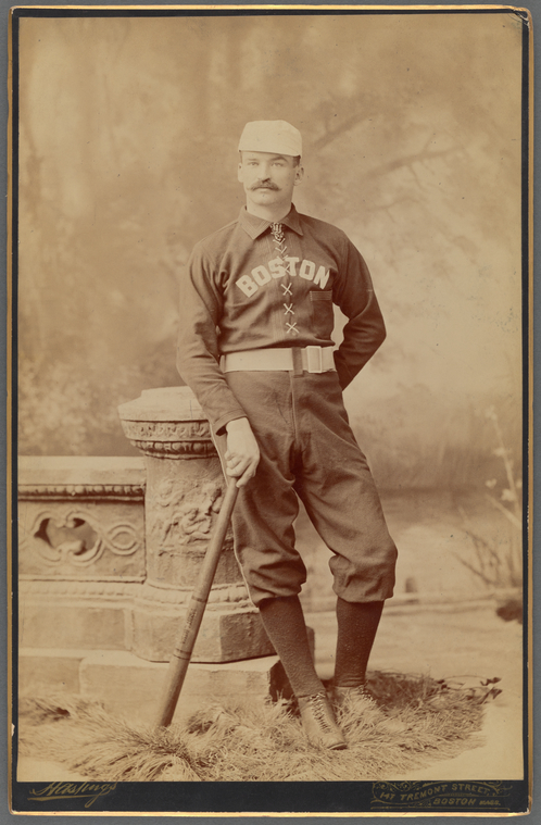 Fascinating Historical Picture of G. H. Hastings in 1887
