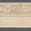 Sketch of Hippodrome proscenium