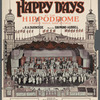 Happy Days sheet music cover