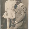 Studio portrait of Gwendolyn Bennett and her father, Joshua R. Bennett