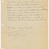 The love letter: typescript, 1921