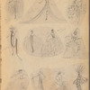 Fancy costumes: scrapbook, approximately 1920-1932
