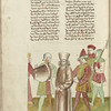 Jerome of Prague, in fetters, between two soldiers, f. 142