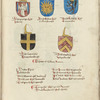 Coats of arms of Eastern archbishops and bishops, ff. 380-381