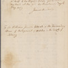 De Lancey, James. New York. To Sir William Johnson