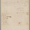 Cary, Archibald and Harrison, Benjamin. Staunton. To Brig. Gen. Morgan
