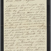 Autograph letter signed to Emma Taylor, 23 March 1879