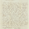 Autograph letter signed to Claire Clairmont, 4 May 1860
