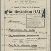 Manifestation Dada: Maison de l'œuvre (Salle Berlioz) ... le samedi 27 mars, à 8 h. 15 précises, [programme]