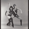 Cynthia Onrubia and Reed Jones in publicity photograph for the stage production Cats