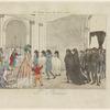 M'elle Chameroy reçue par Saint Thomas, l'an onze - 1802