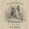 Saltarello for piano by S.B. Mills, Op. 26