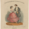 Ballroom dancing on British and American 19th-century music covers