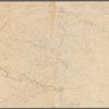 Map of Virginia, Fredericksburg to Richmond