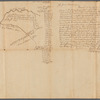 Saml. Devenports mapp of his tract by Allinstown, 1752 (survey of land near Allentown, New Jersey, by order of James Alexander)