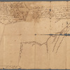 Isaac Watson resurvey, 1724 (survey of the Isaac Watson Plantation, Hamilton Township, New Jersey, near the Delaware River, by order of James Alexander)