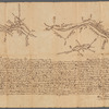 Return of three tract of pineland & meadow, 2 on ye So. Branch of Matodicunk, ye other on ye No. Branch of Tom's River, 1739-40 (signed by) Edmd. Beakes, Depty. Surr.