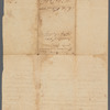 John Biddle's survey of 219 acres in Morris County, 1752 (survey of John Biddle's land in Greenwich, Morris County (now in Warren County), by order of James Alexander)