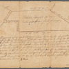 Mahlon Wright's draft of 86 acres (survey of land owned by Mahlon Wright on Doctors Creek, no date)