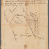 Draught of Gidion's Bickerdike lott (along Hopewell Road and Pennytown Road, probably near Hopewell Township in Mercer County, New Jersey, 1756)