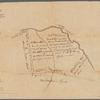 Saml. Devenport & Elizath. Robbins draughts & survey of there land near Allinstown (on Doctors Creek near Allentown, New Jersey, 1752)