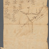Draught of 8 3/4 acres of land survey'd on ye North Branch of Tom's River for a saw mill (1735)