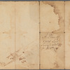 A plan of 8 acres land survey'd 23d Octr. 1727, for Willm. Cox