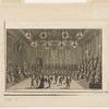 [Collation servie au cours d'un bal donné à Versailles en 1683]