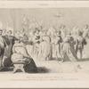 Bal donné à la cour de Henri III à l'occasion du mariage d'Anne duc de Joyeuse avec Marguerite de Lorraine, 24 Septemb. 1581