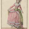 Jeune dame répétant une danse