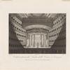 Veduta interna del Teatro della Fenice a Venezia