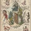 Scenen und Gruppen aus den Pantomimen der Brüder Lehmann Der Wilddieb und Lucifer und der Pächter