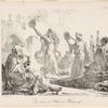 La danse de l'Almé à Bénisouëf