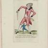 Le maitre de danse Brabancon faisant repeter au petit Condé le pas d'allemande