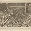 A Masque at Paris, where the King and others dressed as satyrs were in great danger