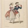 Academie Royale de Musique. Melles Fuoco et Maria dans Ozaï