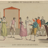 Académie et salle de danse: les grâces parisiennes